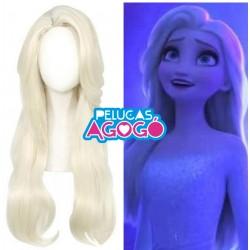 Peluca Princesa Elsa 2